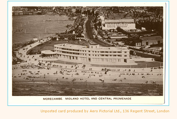 Postcard of the Midland Hotel